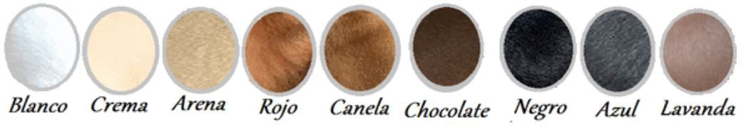 los colores del chihuahua